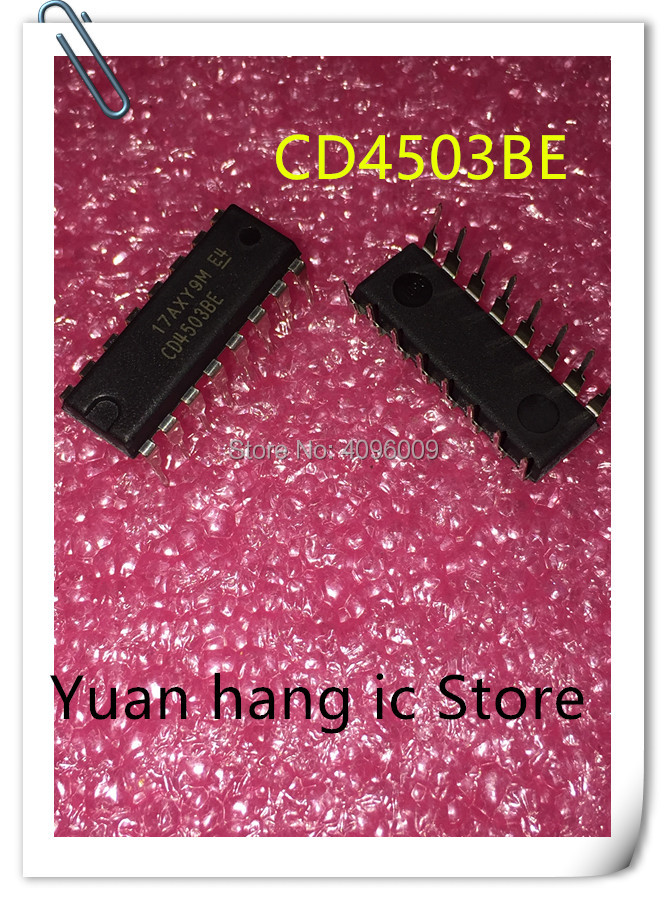 10PCS/LOT CD4503BE CD4503 DIP-16 Logical IC NEW