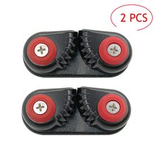 1/2PCS Rowing Boat Fast Entry Cleats Canoe Kayak Cam Cleat Kayak Accessories Sailing Inflatable Boat Aluminum Cam Cleats 1 cam