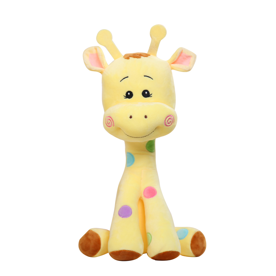 Cute Giraffe Plush Toy Pillows Large Stuffed Animals Baby Christmas Soft Plush Toys Pillow Animal Children Toys For Girls 80A146 wvw cartoon stitch soft stuffed animals toy baby doll toys for girls children birthday gift mini stuffed animals cute plush toy
