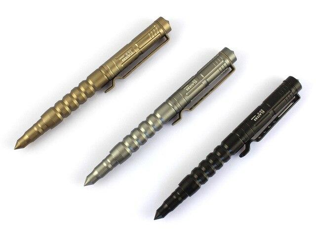 B-8 NOVA LAIX Tactical pen life-saving caneta caneta roller pen defesa EDC Ferramenta acampamento ao ar livre de alumínio de aviação