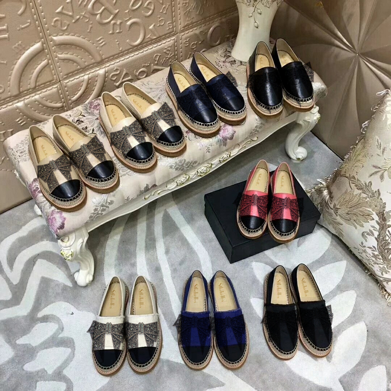 31b4167a013ed Stkehidba Women Real Leather Espadrilles Handmade Sheepskin Woman Casual  Loafers Top Quality Wome s Shoes Plus Size 34 42 Flats-in Women s Flats  from Shoes ...