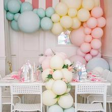 100pcs 10inch Macaron Color Latex Balloon Wedding Decoration Baby Birthday Party Valentine's Day Decor Balloon