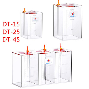 Red Starfish Dosing Pump Scale Liquid Storage Bucket With Scale 1.5L/2.5L/4.5L Liters High Quality Acrylic made Reef
