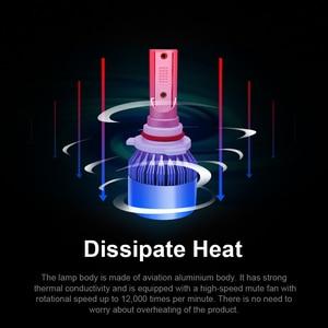 Image 5 - CROSSFOX bombilla LED para faro delantero de coche, 12V, 6000K, 880, H4, H1, H3, H8, H9, H11, 12000K, 9005, HB3, 9006, HB4, H7, 9004, 9007