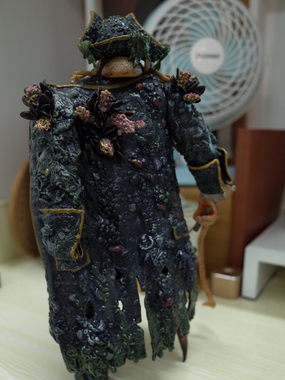 1/6 Caribbean Captain Action Figure Davy Jones figure doll full set doll With ACC Colletible Model Toys And original box 8