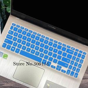 Силиконовый чехол для клавиатуры ноутбука Защитная пленка для ASUS VivoBook S15 S530UN S530U S530UF S5300 S5300U S5300UN 15,6 дюймов