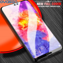 Full Cover Tempered Glass For Huawei P20 Lite Pro P10 Plus Nova 3 3i 3e 4 Honor 9 10 3D Curved Screen Protector Film