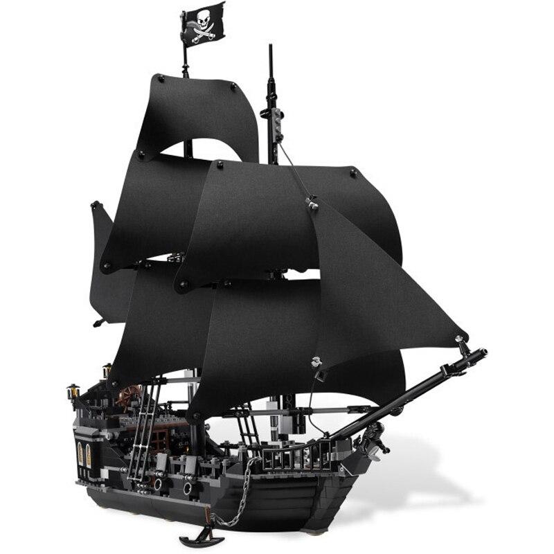 Pirates des caraïbes le navire de perles noires 804 pièces Compatible avec Lego bluilding bloc brique minfiguré ensemble jouet pour enfants