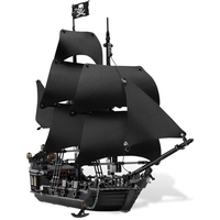 Pirates of the Caribbean The Black Pearl Ship 804pcs Compatible With Lego bluilding block brick minfigured set toy for children
