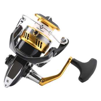 Original Shimano SAHARA FI 1000 2500 C3000HG 4000XG C5000XG Spinning Fishing Reel 5BB Hagane Gear X-Ship Saltewater Fishing Reel
