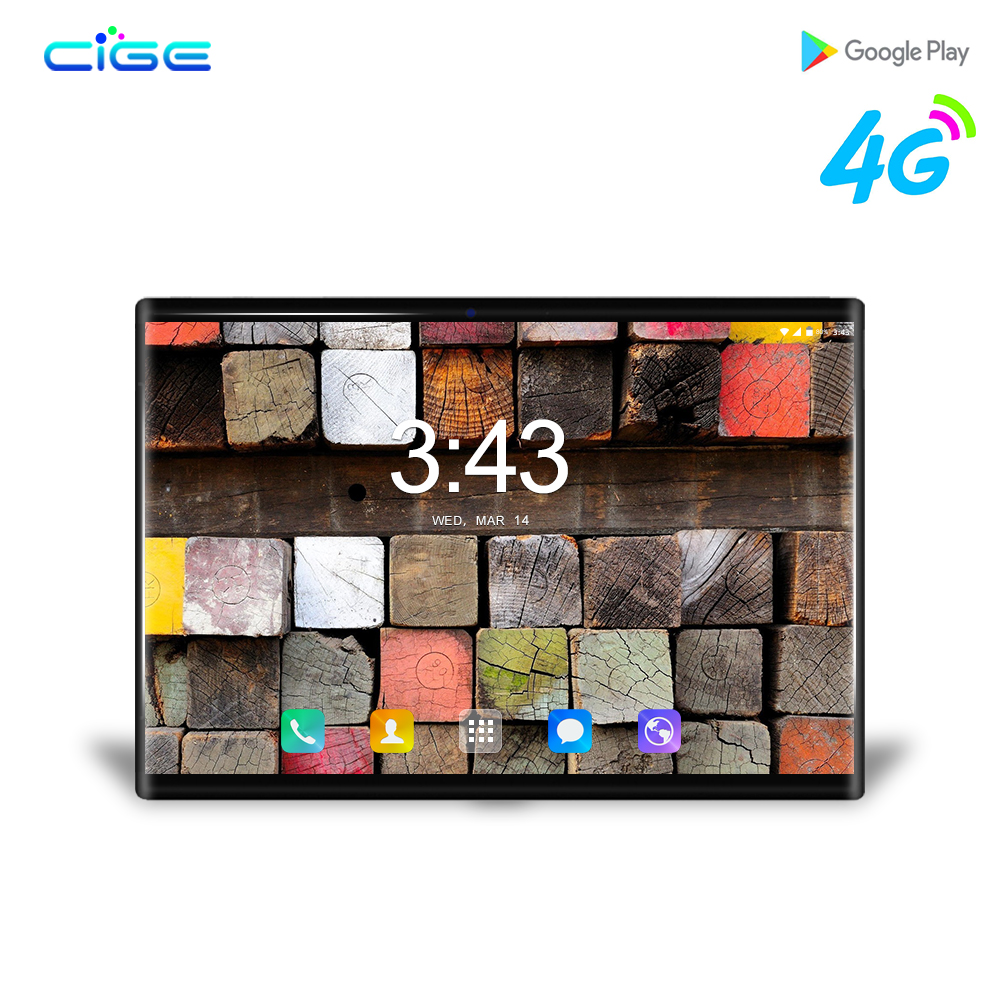 CIGE N9 4G LTE Android 8 0 Smart tablet pc 10 1 inch octa core tablets