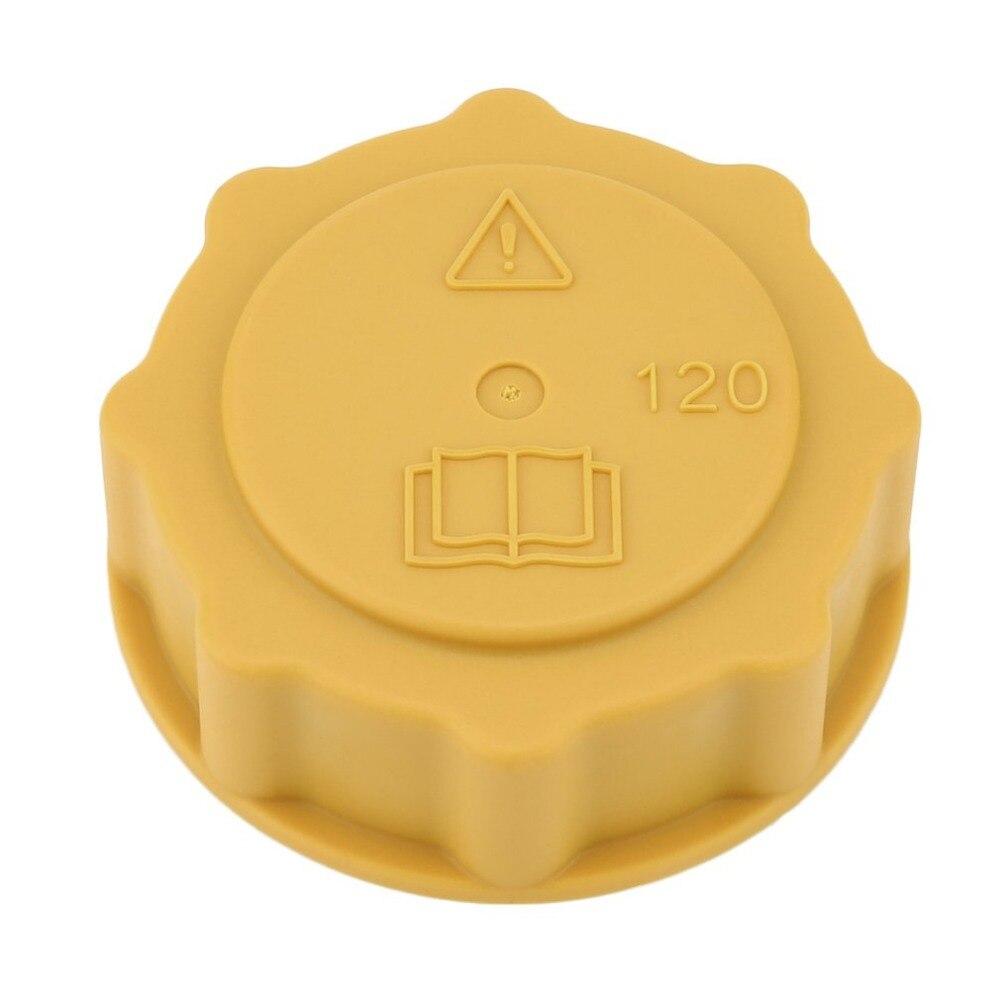 Newprofessional amarelo auto radiador expansão tampa do tanque de água para ford fiesta para escort para foco acessórios do carro quente Capa p/ tanque interno     - title=