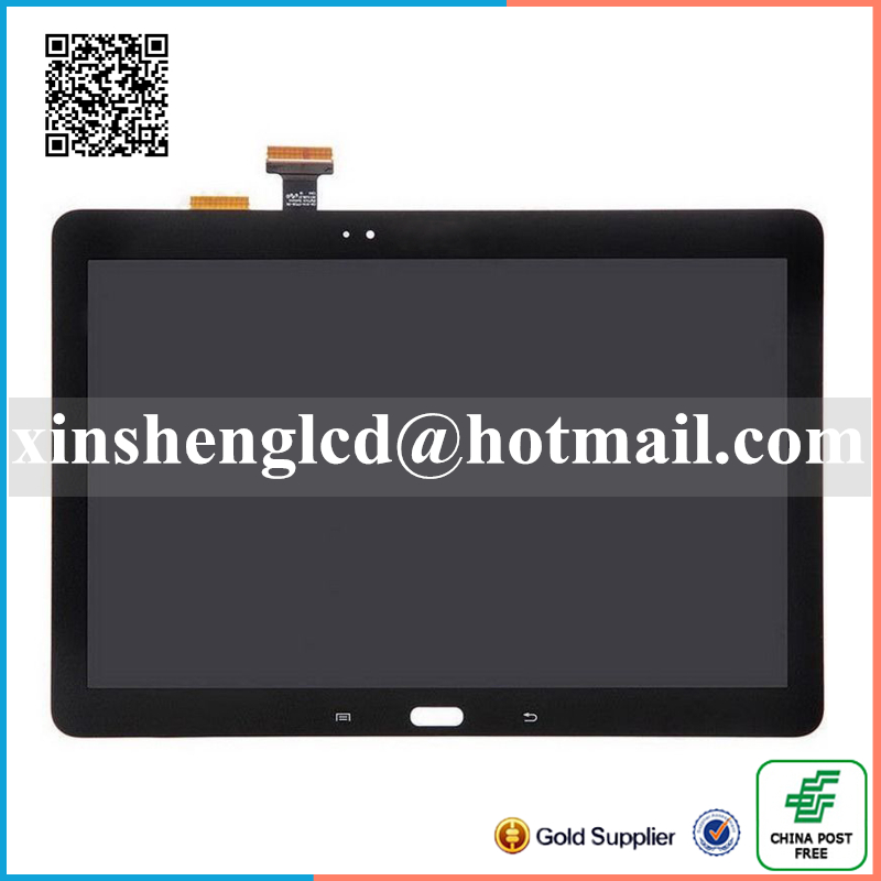 Free shipping top quality Touch Digitizer Screen LCD Display Assembly For Samsung Galaxy Note SM-P600 2014 Edition + Tools