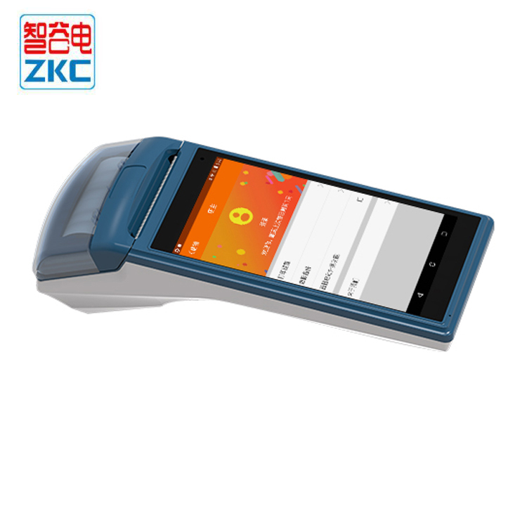 US $105 0 |ZKC5501 Free SDK Android Mobile Payment Pos Thermal Printer  Handheld POS Wireless Bluetooth barcode Scanner Wifi Android PDA-in  Scanners