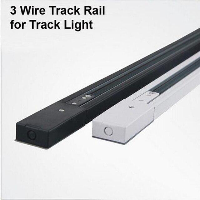 1 mt FÜHRTE Schienenlicht Schienen 3 Draht ...