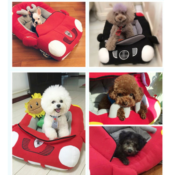 Dog Car Shape Bed 3