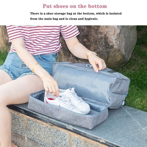 Image 4 - Neue Heiße Trocken Nass Trennung Schwimmen Tasche Strand Wasserdichte Schuh Tasche Reise Kleidung Pflegespeicher Tasche Fitness Organizer