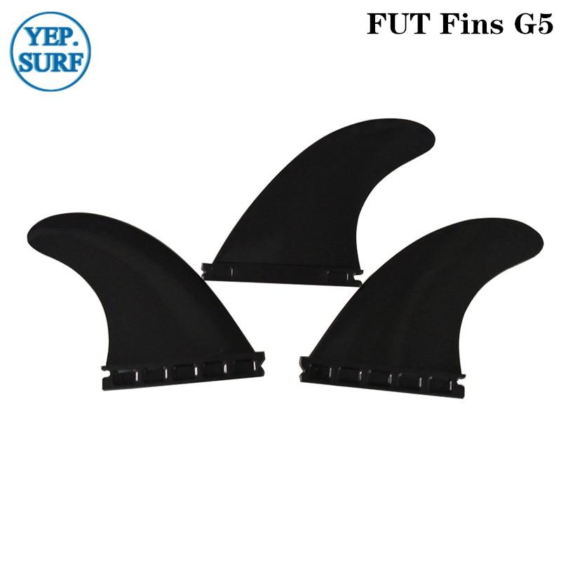 Hight Quality Fins Plastic Future Surf Fins G5 Black Color Fin