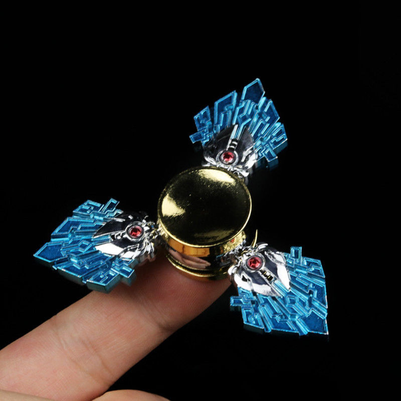 Hand Spinner Finger Fidget Metal Hybird Bearing Gyro EDC Focus Toy Kids Adult Home Decor