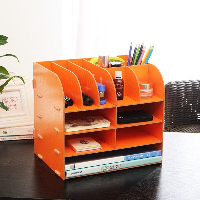 Les fabricants fournissent Mi Xiuer M47 boîte de rangement boîte de bijoux à bricoler soi-même bureau en bois dossier de stockage