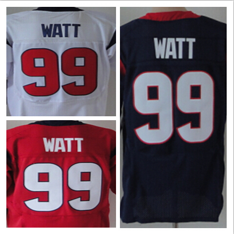 cheap american football jersey wholesale free shipping men elite jerseys jj watt jersey 99 blue