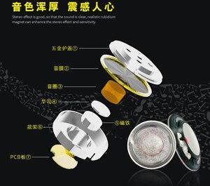 Image 2 - 14.2mm speaker unit very thin for i10 earphone horn Cashmere composite film 10pcs
