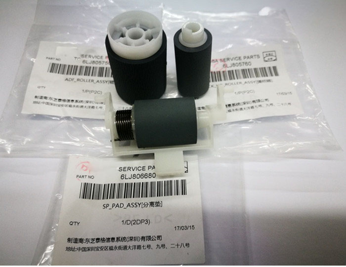 Genuine new ADF pick up roller for Toshiba E2006 E2306 E2506 E2505 E2507 6LJ805760 6LJ805750 6LJ806680