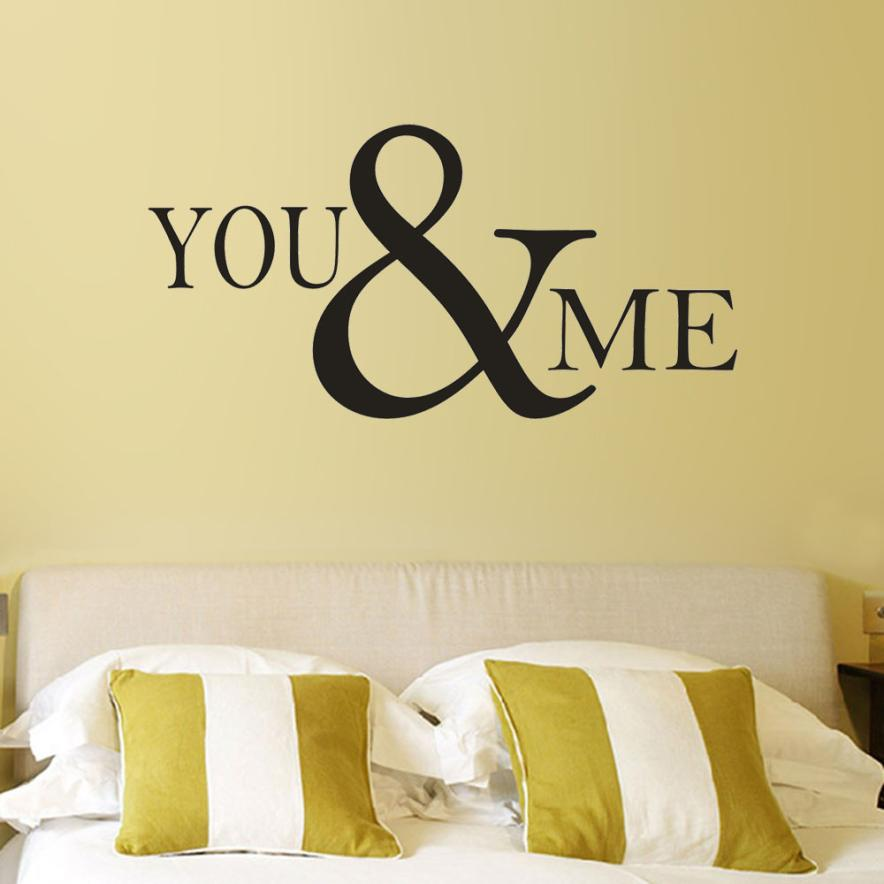Bedroom Quotes For Walls | Hot Sale New Romantic Mural Love Vinyl Wall Stickers Bedroom Quotes