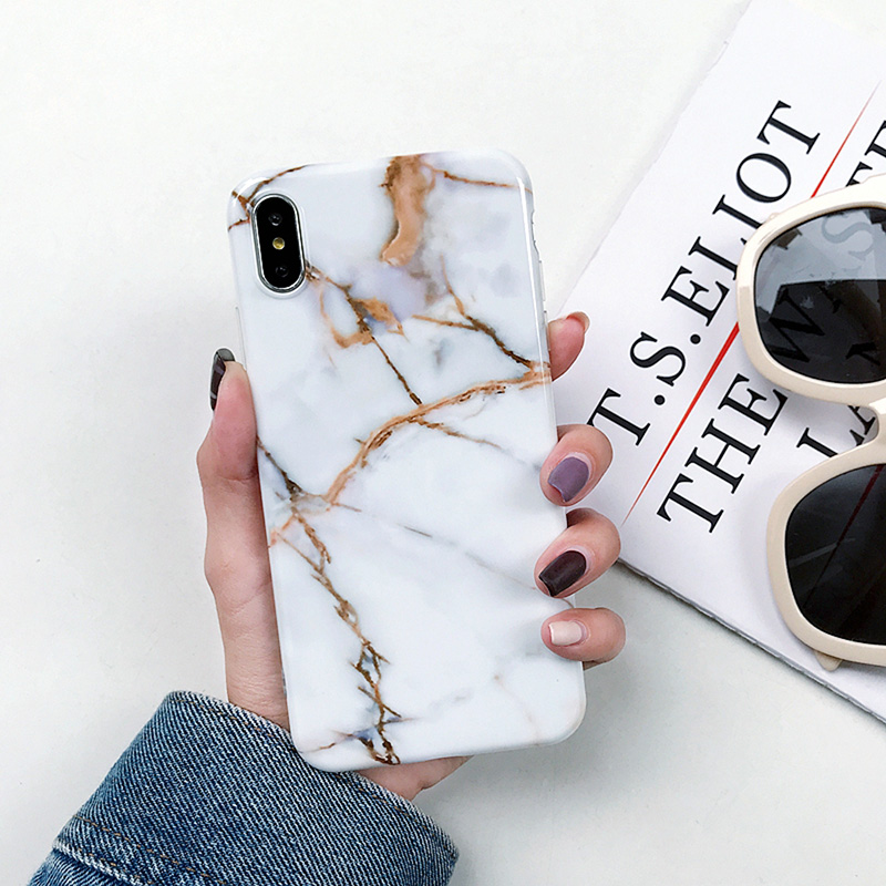 Image 3 - Marble Soft Silicone Back Cover Case For Samsung Galaxy S10 Plus S10E S8 S7 Edge A50 A10 A20 A30 A70 M10 Note 9 8 S9 Plus Case-in Fitted Cases from Cellphones & Telecommunications