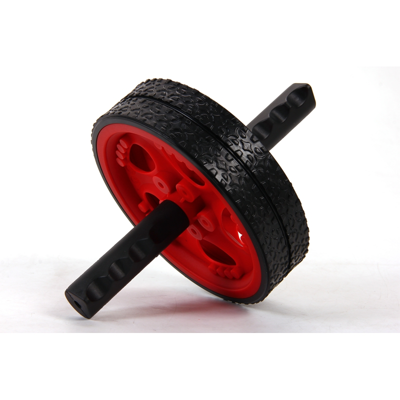 19*7CM Exercise Fitness Equipment Abdominal Wheel Ab Rollers belly Bodybuilding Double-wheeled Rollers