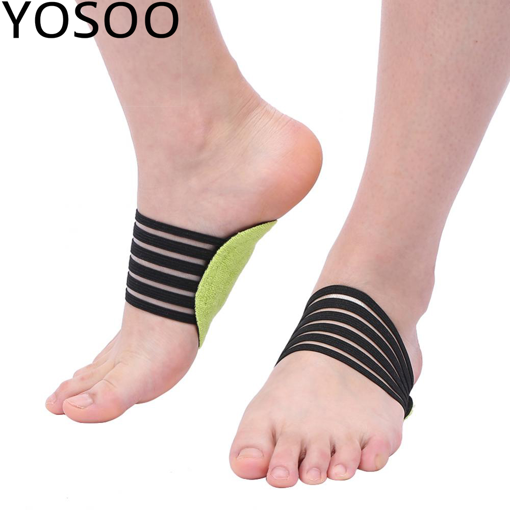 Foot Heel Pain Relief Plantar Fasciitis Insole Pads /& Arch Support Shoes Insert