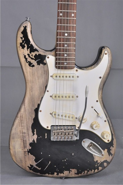 Vicers electric guitar free shipping SRV Retro relics ST Picture real shot