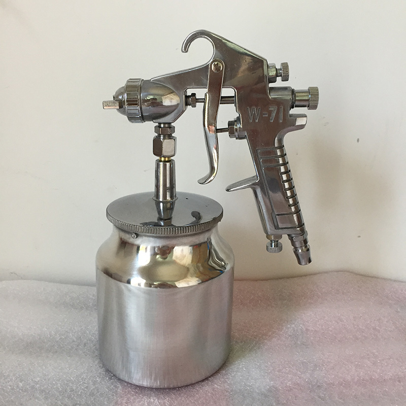 SAT1263L Suction Feeding Spray Gun Air Painting Tool High Pressure Pneumatic Car Paint Spray Gun sat1215s air tools pneumatic gun paint spray gun auto chrome high pressure spray gun