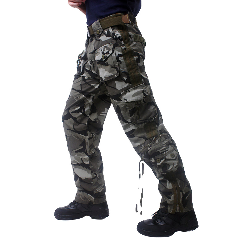 Military Camouflage pants blind clothing tactical cargo pants army combat pants camouflage fatigues MK_12