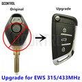 Пульт дистанционного управления Q для BMW X3 X5 Z3 Z4 1/3/5/7 серии EWS, модифицированный ключ 315 МГц/433 МГц, система управления дверным замком автомобил...