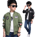 Baby Boy Clothes Boys Jacket 2017 Spring Letter Boys Outwear For Children Brand New Kids Coats For Boys Baseball Coat