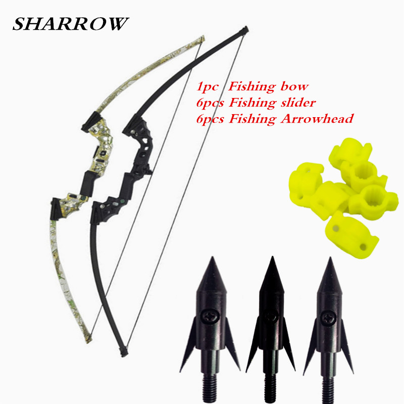 40lbs 51inch Archery Fishing Bow Hunting Straight Longbow CNC Alloy for Outdoor Target Shooting Fish Accessories