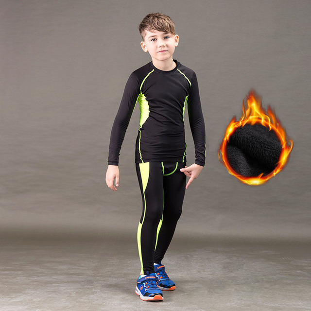 Quick Dry Kids Thermals 1