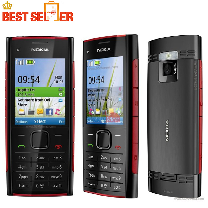 x2 original nokia x2 00 bluetooth fm java 5mp unlocked mobile phone rh aliexpress com Nokia X6 Nokia X2 Android