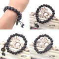 Lychee New Fashion 10mm Buddhist Prayer Peach Wish Wood Men Women Unisex Beads Bracelet