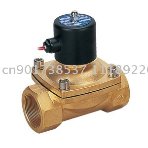 2W Model 2 Way Water Solenoid Valve Brass Body 2 Inches Ports 2W500-50 50mm Orifice DC12V DC24V AC110V or AC220V 1 2 built side inlet floating ball valve automatic water level control valve for water tank f water tank water tower