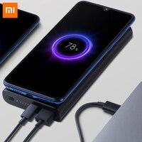 Original Xiaomi Wireless 10000mah Power Bank USB Type C Mi Powerbank Qi Fast Wireless Charger Portable Charging for Smart Phone