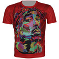 2016 New Children 3D T Shirt Tupac 2Pac Brother Print Casual Short Sleeve Funny T-Shirt Boy Girl Hip Hop Tops Fit 4-15 Years