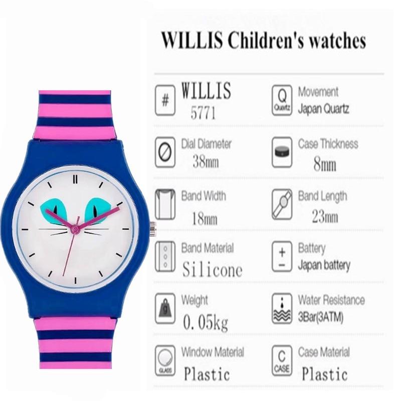 WILLIS Fashion Αθλητικά Γυναικεία WristWatch - Γυναικεία ρολόγια - Φωτογραφία 6