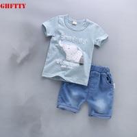 Baby Boys Girls Clothing Set Kids Clothing100 Cotton Children Shirt Pants Set Kids Cartoon Clothes Sport