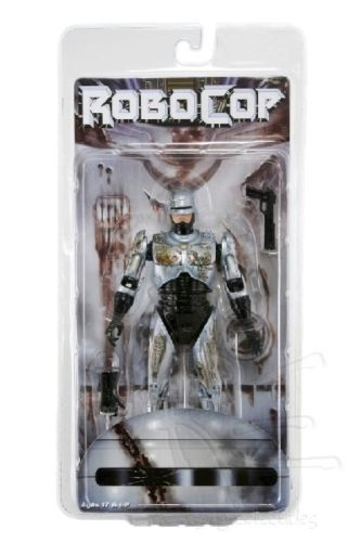 Robocop Action Figure 7 Battle Damaged Ver. Model Toys Best Kids Gifts Collections Free   Shipping 2017 new 3d metal puzzle star craft terran colorful battle cruise assembly model jigsaw children s toys kids best gifts