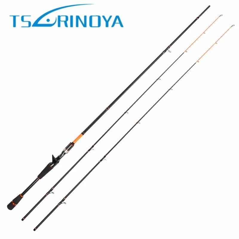 все цены на TSURINOYA 2.1m 2.4m 2 Tips M/ML Power Carbon Casting Fishing Rod Portable Fiber Lure Fishing Rod Vara De Pescar FIshing Tackle онлайн