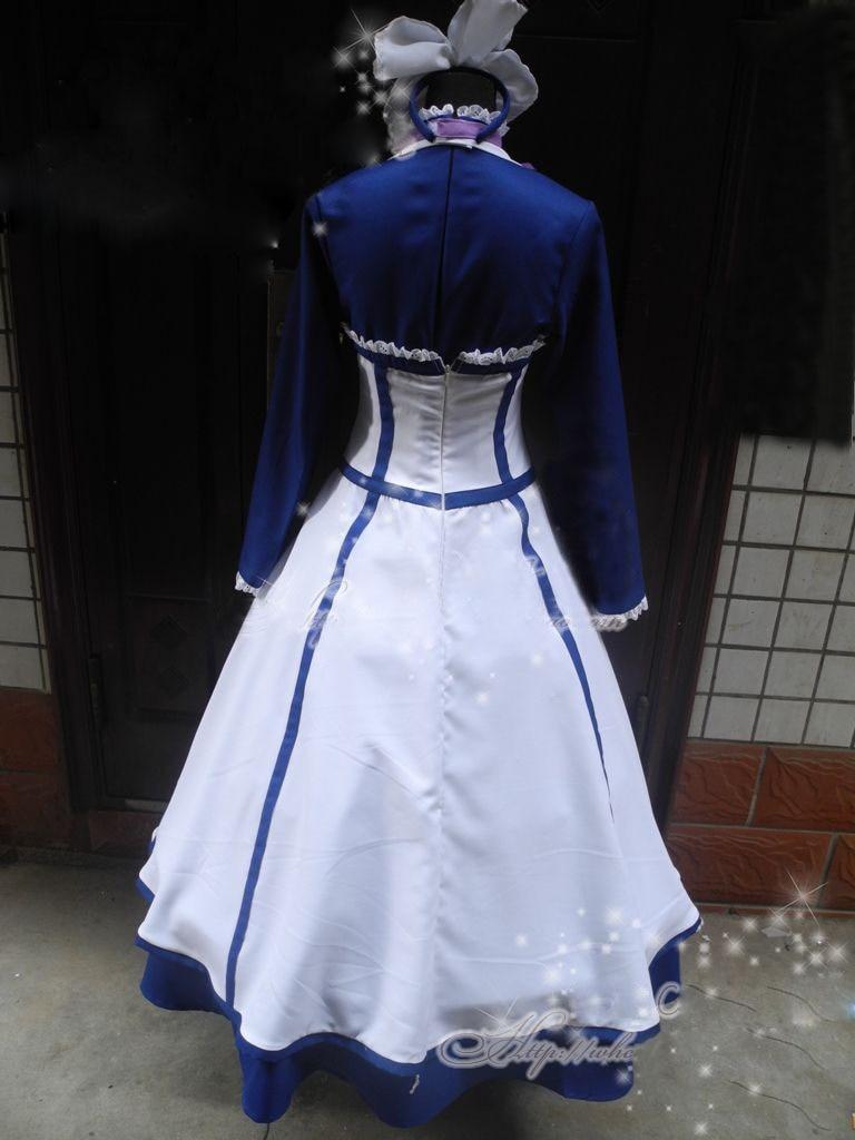 Black Butler II  Hannah Annafellows Cosplay Costume dress Outfits Custom made
