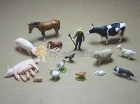 mini pvc figure Hokkaido Ranch Scene set