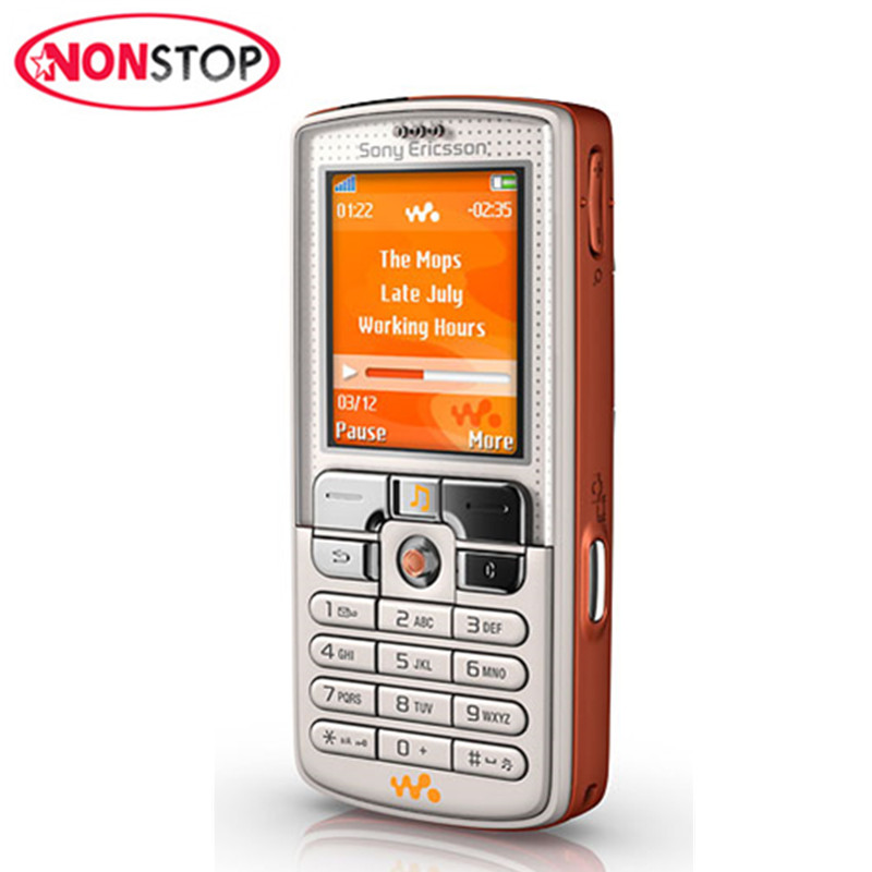 Original Sony Ericsson w800 Unlocked Mobile Phone 2.0MP FM Bluetooth W800i Refurbished Cell Phone(China)